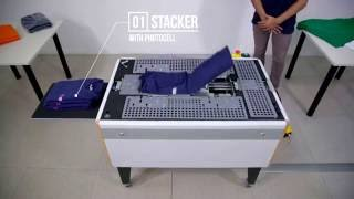 Speedy-T | T-SHIRT Folding and Packaging Machine