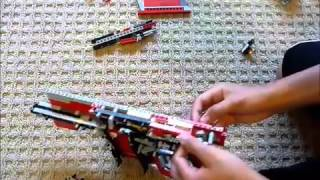Lego Kriss Vector Instructions Part 2/2 (Working)