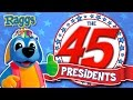 Download Video Download Nursery Rhymes and Kids Songs | The 45 Presidents Song | Raggs TV 3GP MP4 FLV