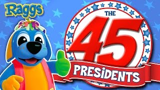 """""""The 45 Presidents"""" Song - NEW President Donald Trump! - Raggs"""