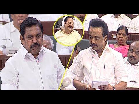 Xxx Mp4 Mk Stalin Vs CM Eddapadi Palanisamy Debateat Tamil Nadu Assembly Today 26062018 P DhanapalSTV 3gp Sex