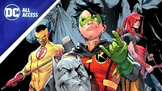 TEEN TITANS: New Lineup + Dan DiDio Talks Essential Comics