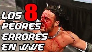Los 8 peores errores en la historia de WWE / Worst Botches in WWE History