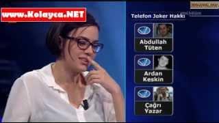 Kim milyoner olmak ister 1 mart 2014 Ezgi Ahat 331. bölüm