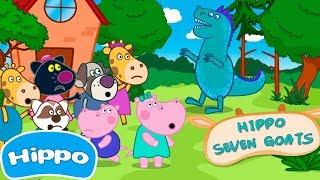 Hippo 🌼 Partido quebrado das crianças 🌼 Jogo de desenhos animados para crianças