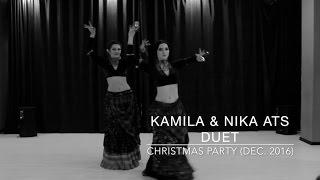 KAMILA & NIKA American Tribal Style Duet (Astana, Kazakhstan)