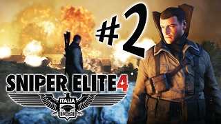 Sniper Elite 4 Italia - Parte 2: EXPLODINDO TUDO!!!!! [ PC - Playthrough ]