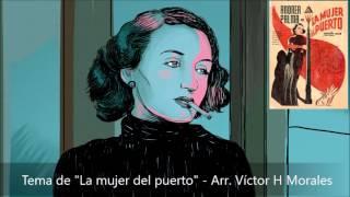 Tema de La mujer del puerto (1935) (piano solo)