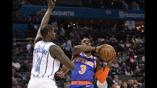 NBA: Knicks rally from down 21 to beat Hornets in OT