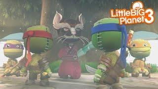LittleBigplanet 3 - Teenage Mutant Ninja Turtles [Playstation 4]