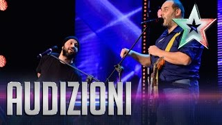 I Camillas: la lucertola come fa? | Italia's Got Talent 2015