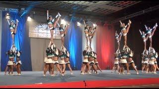 Cheer Extreme Senior Elite HITS their Vegas routine!