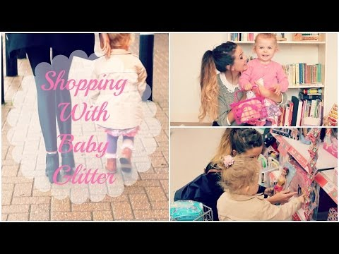 Shopping & Haul With Baby Glitter Zoella