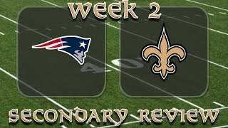 New Orleans Saints Film Study - Week 2 Secondary Review