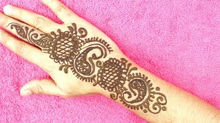 6090 Easy Arabic Mehndi Design For Hands | Henna Design | New Mehndi Design | Cumri