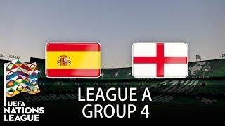 Spain vs England - 2018-19 UEFA Nations League - PES 2019