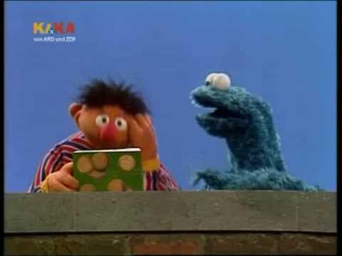 Sesamstrasse Ernie will Kekse zählen