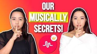 OUR MUSICAL.LY SECRETS & TRICKS (No Hands Slo-Mo, Transitions, Tutorials) | Caleon Twins