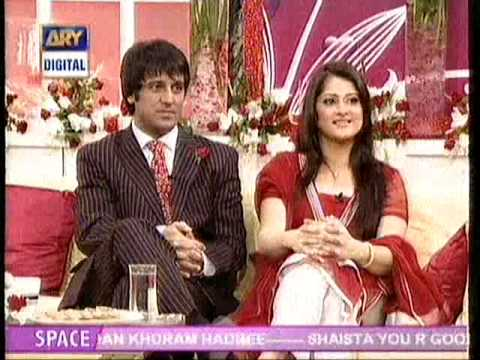 Sahiba & Rambo Ary Morning Show Dr. Shaista Valentine day 2010
