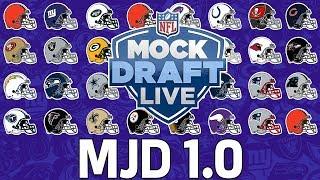 FULL 1st Round NFL Mock Draft & Analysis | MJD 1.0 | NFL