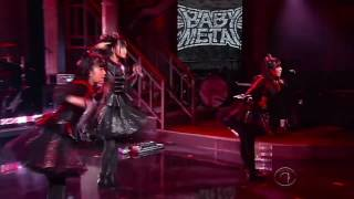BABYMETAL - Gimme Chocolate!! - The Late Show