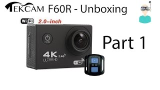 Tekcam F60R - Cheap Action Camera With Remote Controller  - Part 1