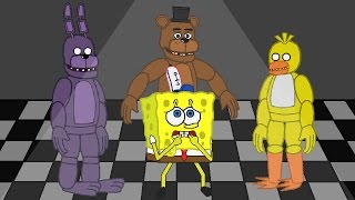 SpongeBob FIVE NIGHTS AT FREDDY'S PART 2
