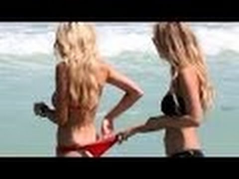 Hot Bikini Girls Get Naughty On The Beach Compilation