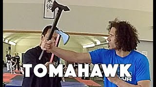 Silat Suffian Bela Diri - Tomahawk (Kapak)