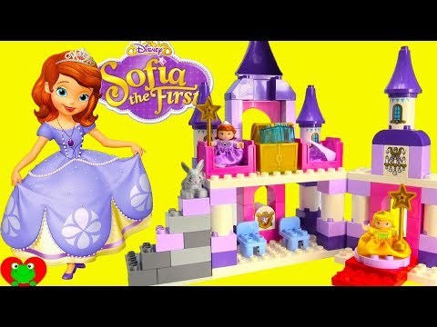 Disney Princess Sofia The First Royal Castle Lego Duplo Build with Magical Surprises
