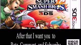 Free Super Smash Bros. for 3DS Download Code