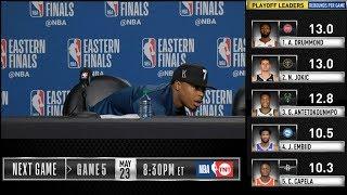 Kyle Lowry postgame reaction | Raptors vs Bucks Game 4 | 2019 NBA Playoffs