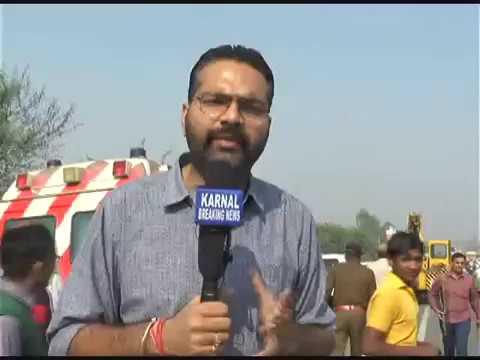 Karnal MLA Bhiwani Ghanshyam Saraf Ki Car Ne Mahila Ko Kuchla Maut MLA Car Chod Farar Must Watch