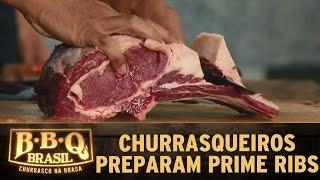 BBQ Brasil (16/04/16) - Episódio 10 - Churrasqueiros preparam Prime Rib na Prova Individual