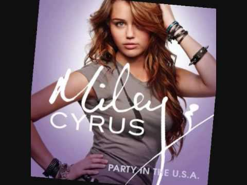 watch Miley cyrus party in the usa(lyrics)