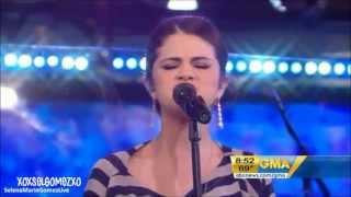 Selena Gomez - Round & Round (Live at Good Morning America 23/09/10) [HD]