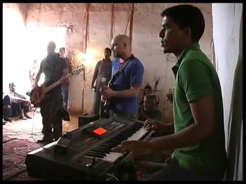 Gasparazzo incontra i musicisti Sahrawi