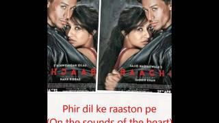 Sab tera english & hindi lyrics-baaghi