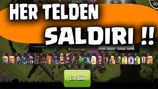 Her Telden Asker Saldırısı - Clash of Clans