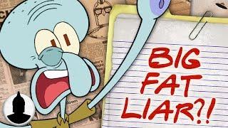 Is Squidward a BIG LIAR?? - SpongeBob SquarePants Cartoon Conspiracy  (Ep. 163)