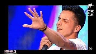 Uddi a lăsat mască juriul de la X Factor cu piesa