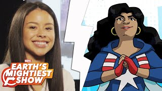 Get to know America Chavez from Marvel Rising!   Earth