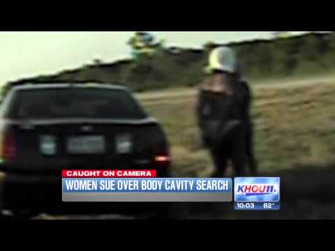 2 women in bikinis given body cavity searches on the side of Highway -