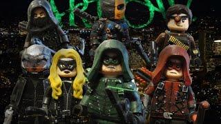 Lego Custom Minifigure- Arrow