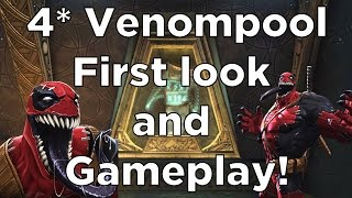 4 Star Venompool - First Look and Gameplay - Marvel Contest of Champions