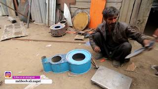 I HAVE PURCHASED A NEW HANDMADE WOODEN STOVE FOR MY HOME.|| FAMOUS WINTER STOVE OF NAGAR VALLEY