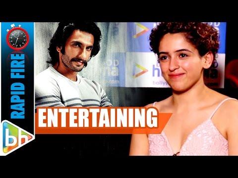 Xxx Mp4 Sanya Malhotra S ENTERTAINING Rapid Fire On Ranveer Singh Aamir Khan Dangal 3gp Sex