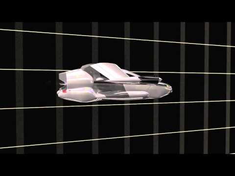 Terrafugia TF X hybrid electric stop fold tiltprop VTOL flying car