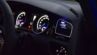 P3 Cars OBD Vent Gauge Install - MK7 Golf R - AutoInstruct