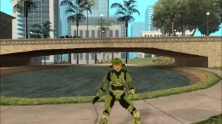 GTA sa - Jefe Maestro bailando Rap de Halo 4 de ZarcortGame